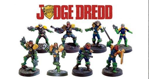 Miniaturas de Judge Dredd