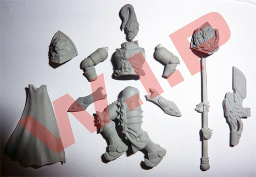 Wip de los pretorianos de kabuki models