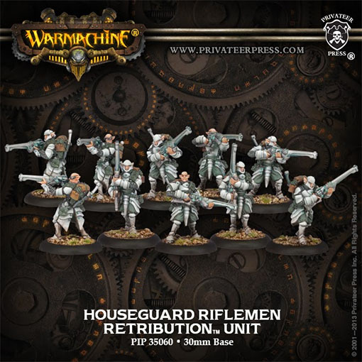 Riflemen de warmachine