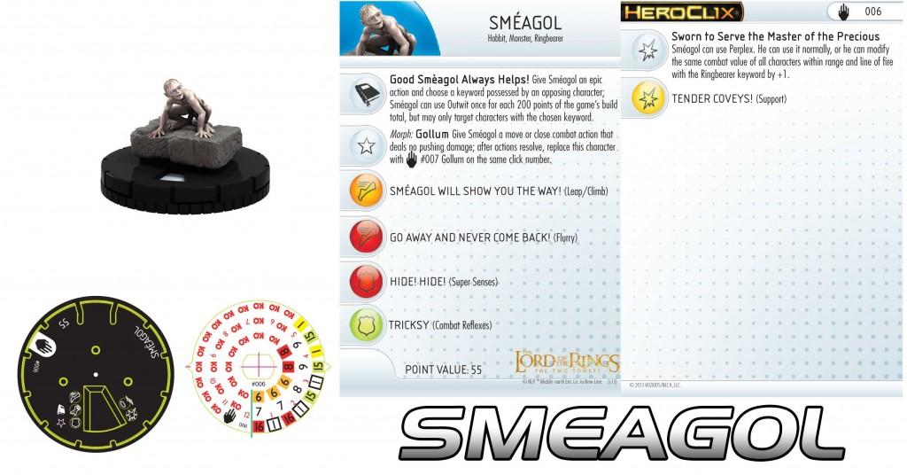 Smeagol Heroclix