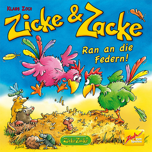 Portada de Zicke and zacke