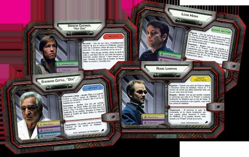 Nuevos personajes de Battlestar Galactica Amanecer