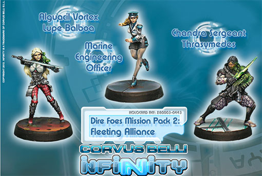 dire foes mission pack fleeting alliance de Infinity