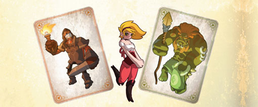 Cartas de Monsters and maidens
