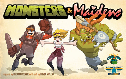 Portada de Monsters and maidens