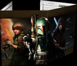 Star Wars: Al Filo del Imperio, Pantalla DJ