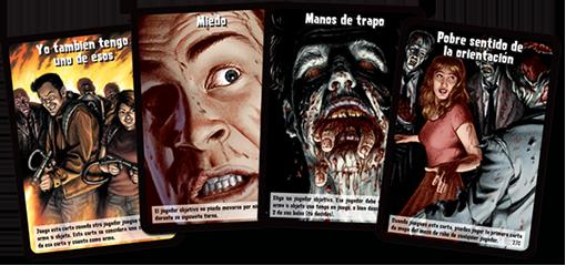 Cartas de evento de Zombies el juego de cartas
