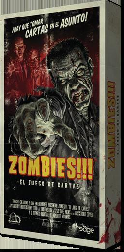 Caja de Zombies el juego de cartas