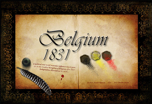 Portada del prototipo de Belgium 1831/king's nation
