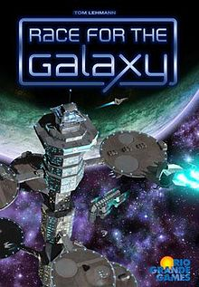 Race for the galaxy recibirá una 5º expansión Xeno invasion