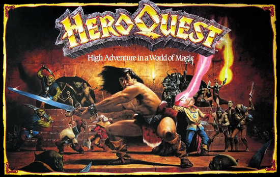Caja de Hero Quest original