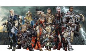Pathfinder art work
