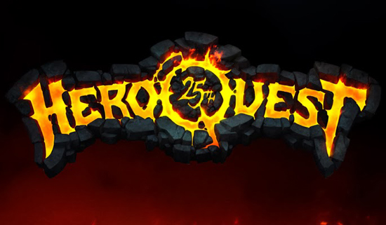 Logotipo de Hero Quest 25 aniversario