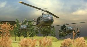foto tour of duty helicópteros