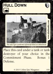 carta Command-Card Hull-Down