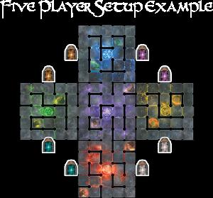 wiz-war 5 jugadores