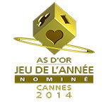 Logotipo del As d'or 2014