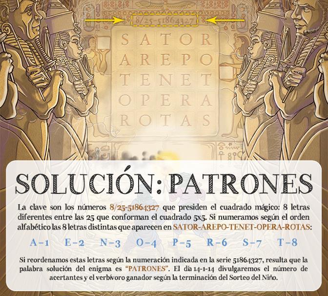 Crucigramarius solucion