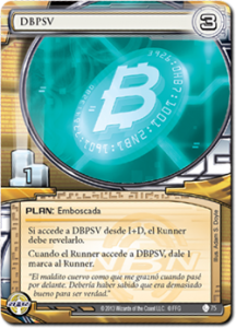 foto Android: Netrunner, carta DBPSV
