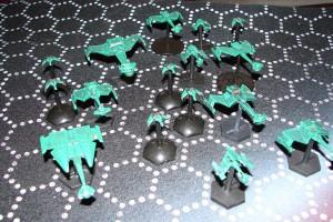 Romulan Armada, miniaturas foto