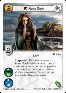 Sansa Stark carta