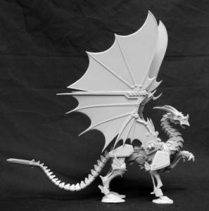 torn armor miniatura