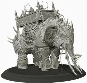 torn armor miniatura elefante