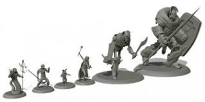 torn armor miniaturas