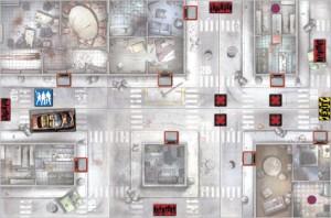 mapa zombicide atajo
