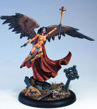 Angel de Vision in Fantasy de Dark Sword Miniatures