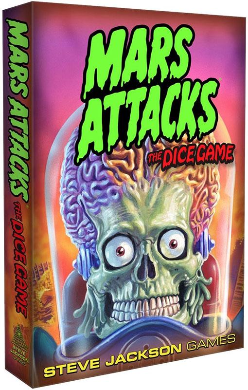 Portada de Mars Attacks the dice game