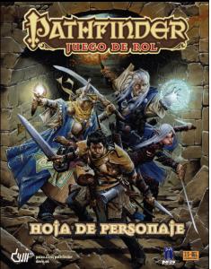 Pathfinder, hoja de personaje foto