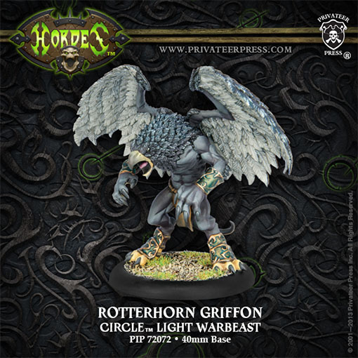 Rotterhorn Griffon de Privateer Press