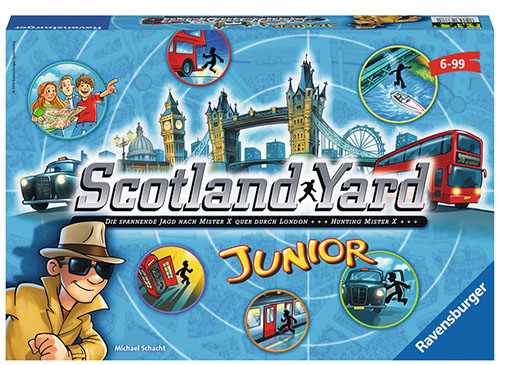 Caja de Scotland Yard Junior