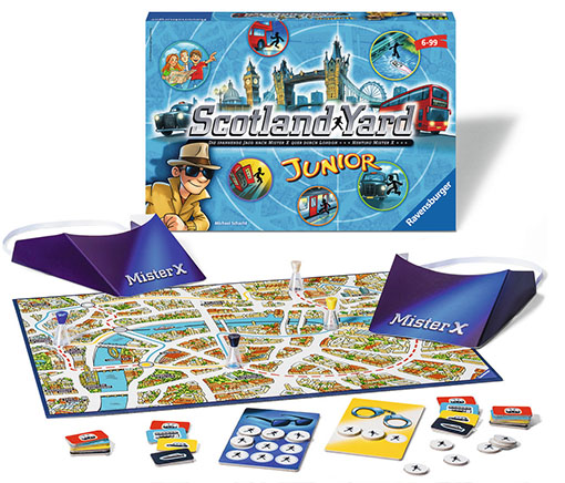 Componentes de Scotland Yard Junior