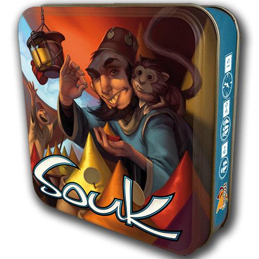 Caja metalica de Souk