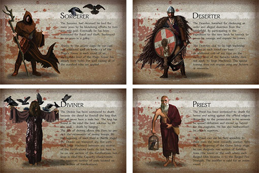 The convicted cartas de heroes