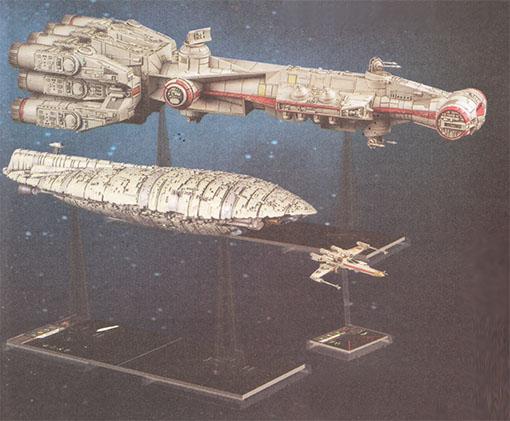 Las dos nuevas naves grandes de X-Wing