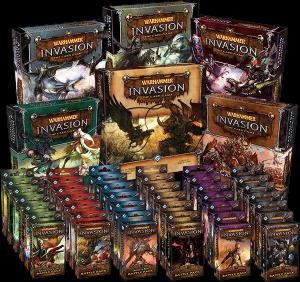 Warhammer Invasion, colección completa
