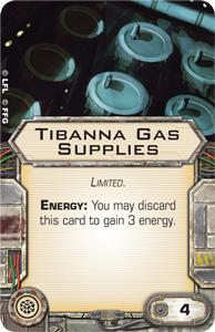 X-Wing, Tantive IV, Tibanna Gas Supplies