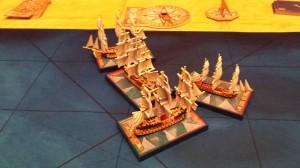 Sails of Glory, partida