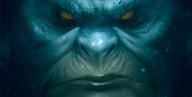 Detalle de la portada de abyss
