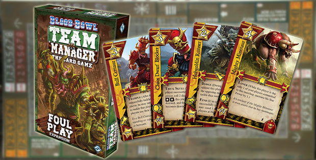 Apertura Blood Bowl: Team Manager, expanción Foul Play