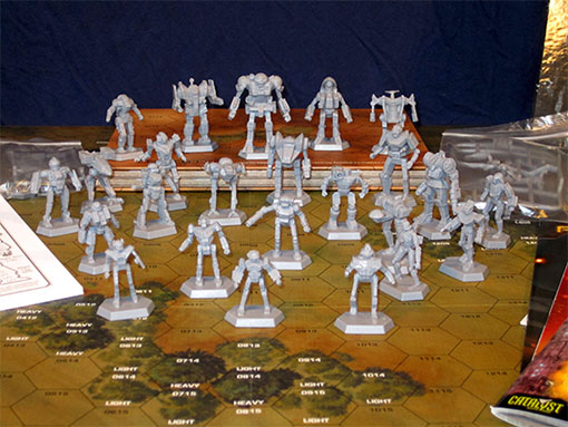 Mechs de Battletech introductory Box Set
