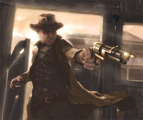 Arte conceptual de Doomtown Reloaded
