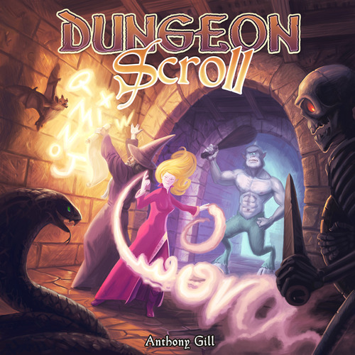 Portada de Dungeon Scroll