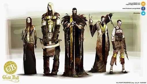 Gremio de los sepultureros de Guild Ball