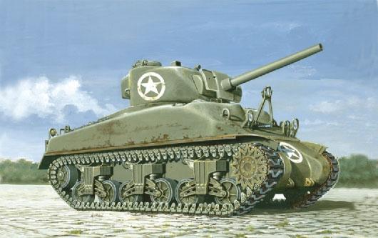 M4 Sherman de Italieri