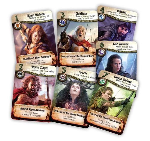 Cartas de Seventh Hero