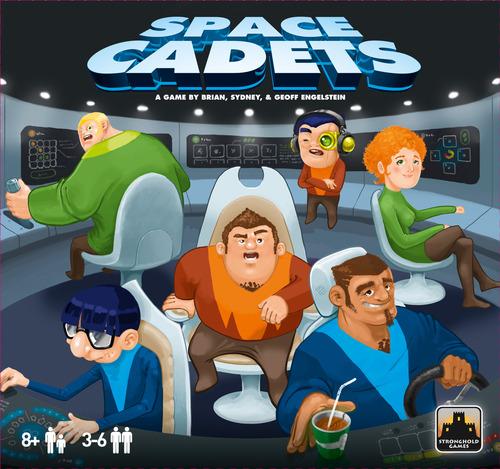 Portada de Space Cadets